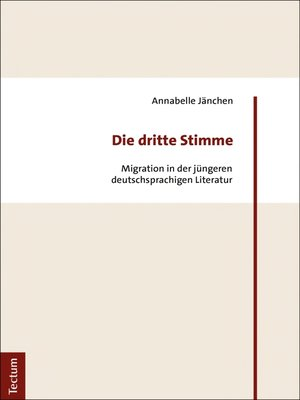 cover image of Die dritte Stimme
