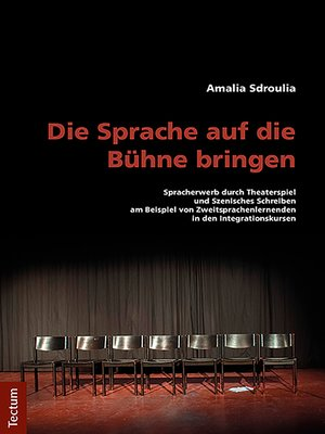 cover image of Die Sprache auf die Bühne bringen