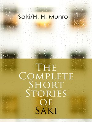 cover image of The Complete Short Stories of Saki
