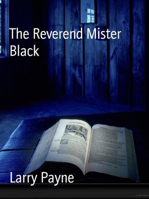 cover image of The Reverend Mister Black