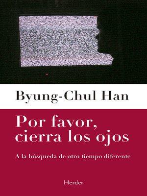 cover image of Por favor, cierra los ojos