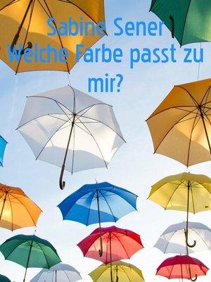 cover image of Welcher Farbtyp sind Sie?