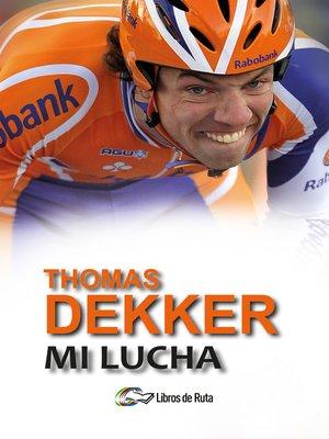 cover image of Thomas Dekker