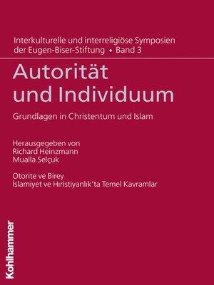 cover image of Autorität und Individuum