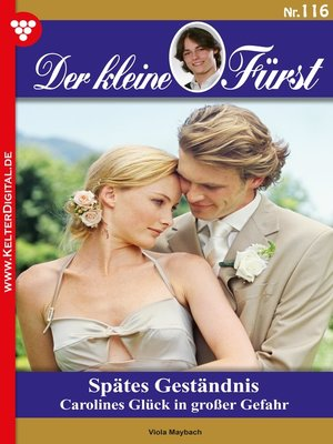 cover image of Der kleine Fürst 116 – Adelsroman
