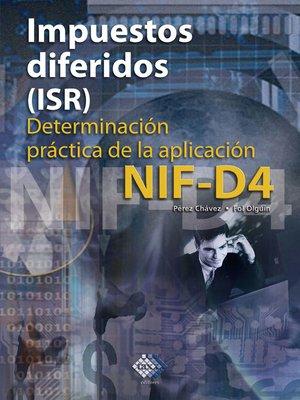 cover image of Impuestos diferidos (ISR) 2016