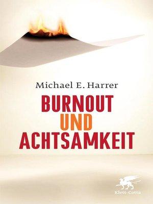 cover image of Burnout und Achtsamkeit