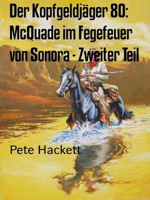 cover image of Der Kopfgeldjäger 80