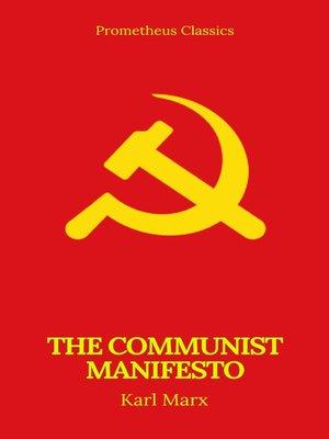 cover image of The Communist Manifesto (Prometheus Classics)