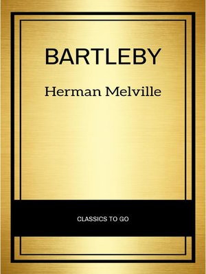 cover image of Bartleby