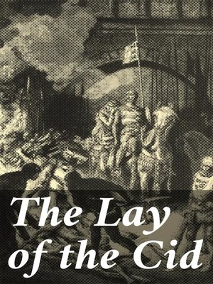 cover image of The Lay of the Cid