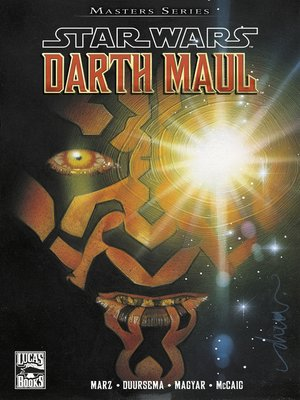 cover image of Star Wars Masters, Band  2--Darth Maul