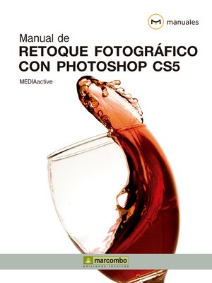 cover image of Manual de Retoque Fotográfico con Photoshop CS5
