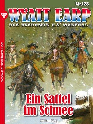 cover image of Wyatt Earp 123 – Western