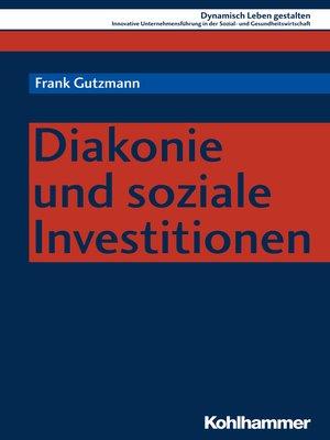 cover image of Diakonie und soziale Investitionen