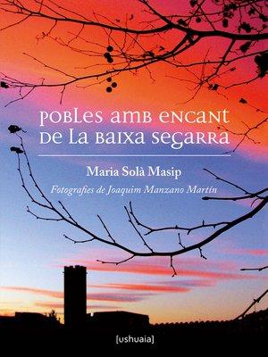 cover image of Pobles amb encant de la Baixa Segarra
