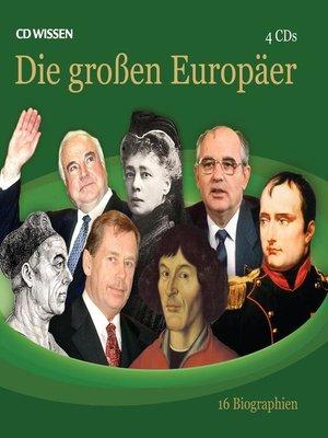 cover image of Die großen Europäer