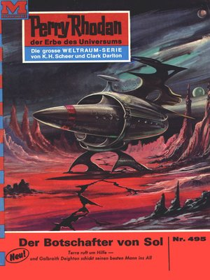 cover image of Perry Rhodan 495