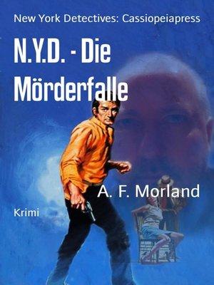 cover image of N.Y.D.--Die Mörderfalle
