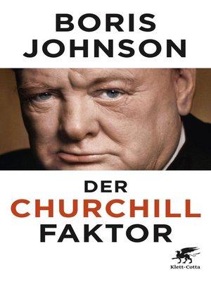 cover image of Der Churchill-Faktor