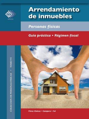 cover image of Arrendamiento de inmuebles