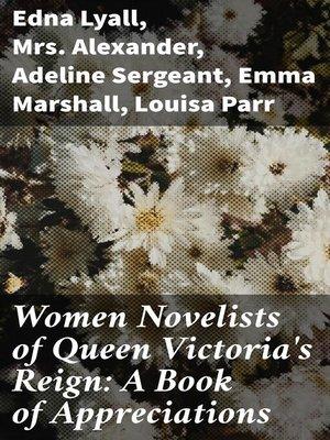 cover image of Women Novelists of Queen Victoria's Reign
