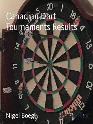 cover image of Canadian Dart Tournaments Results