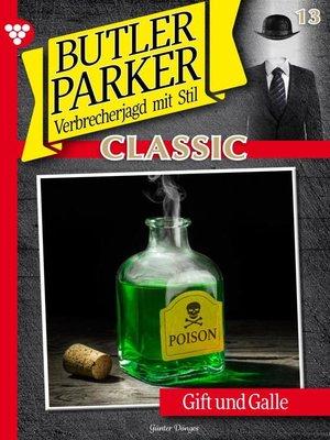 cover image of Butler Parker Classic 13 – Kriminalroman