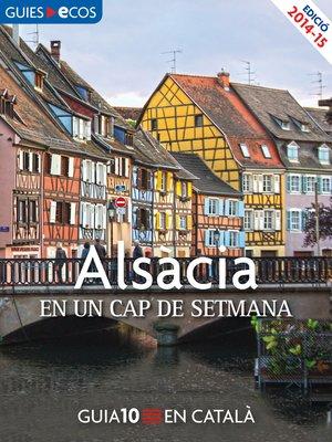 cover image of Alsàcia. En un cap de setmana