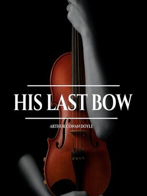cover image of His Last Bow