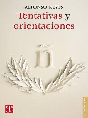 cover image of Tentativas y orientaciones