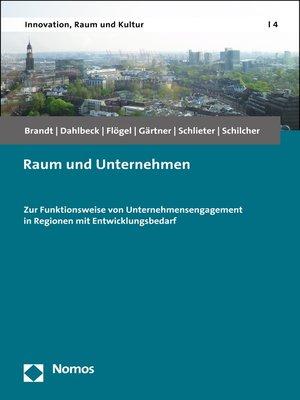 cover image of Raum und Unternehmen