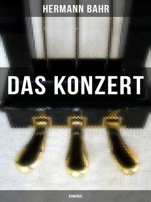 cover image of Das Konzert (Komödie)