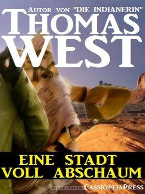 cover image of Eine Stadt voller Abschaum
