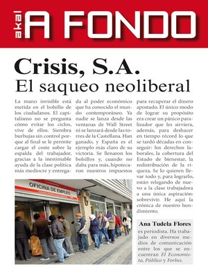 cover image of Crisis S.A.