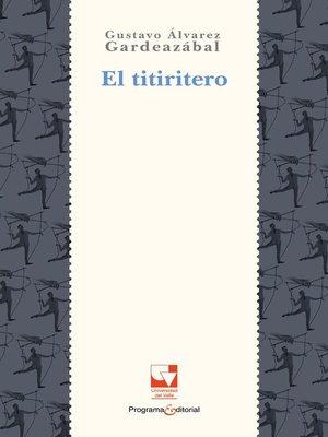cover image of El titiritero