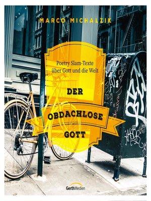 cover image of Der obdachlose Gott