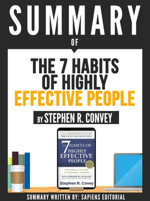 "cover image of Summary of ""The 7 Habits of Highly Effective People--By Stephen R. Convey"""