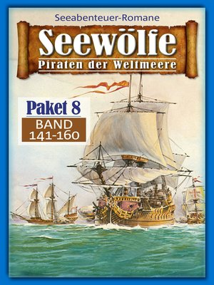 cover image of Seewölfe Paket 8
