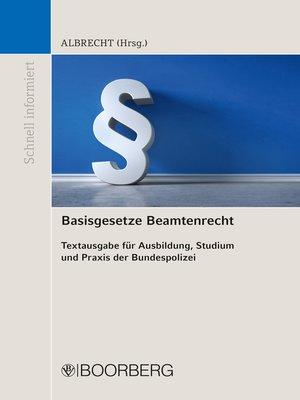 cover image of Basisgesetze Beamtenrecht