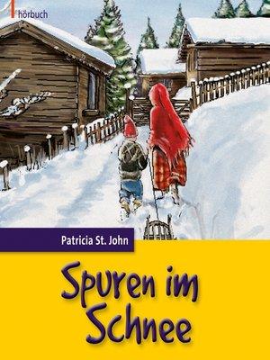 cover image of Spuren im Schnee