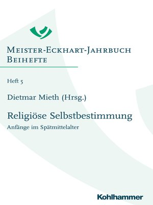 cover image of Religiöse Selbstbestimmung