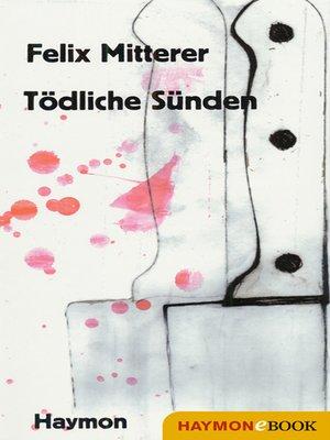 cover image of Tödliche Sünden