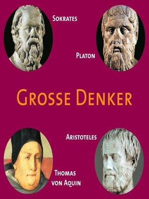 cover image of CD WISSEN--Große Denker--Teil 02