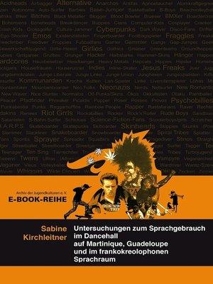 cover image of Untersuchungen zum Sprachgebrauch im Dancehall