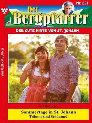 cover image of Der Bergpfarrer 221 – Heimatroman