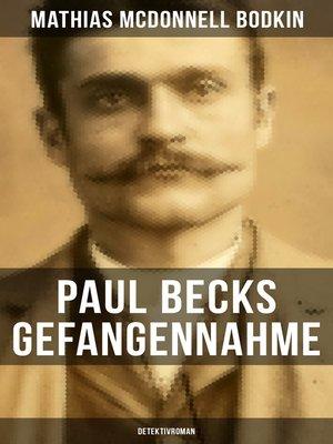 cover image of Paul Becks Gefangennahme