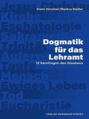 cover image of Dogmatik für das Lehramt