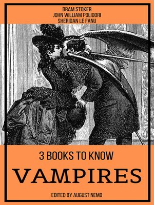 cover image of 3 books to know Vampires