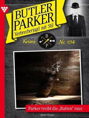 cover image of Butler Parker 194 – Kriminalroman